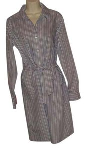 Brooks Brothers Shirt Striped Cotton Dress