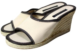 Banana Republic Cream Sandals