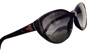 8404e2c7b0 Ralph Lauren Ralph Lauren RL 8098 Black Signature Cat Eye Sunglasses