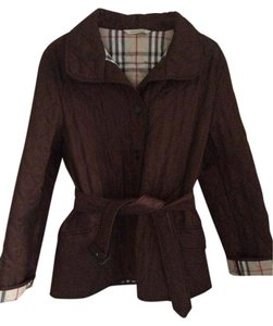 Burberry Quilted Dark coffee Jacket