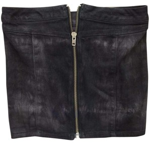 Jessica Simpson Mini Mini Skirt GRAY/BLACK