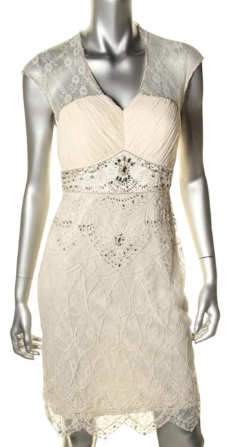 Item - Ivory Wedding Mid-length Formal Dress Size 10 (M)