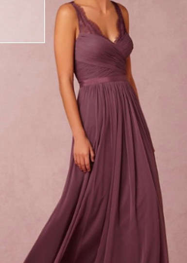 BHLDN Antique Orchid Nylon Tulle Lace; Polyester Lining Fleur #36081925 Formal Bridesmaid/Mob Dress Size 4 (S) Image 2