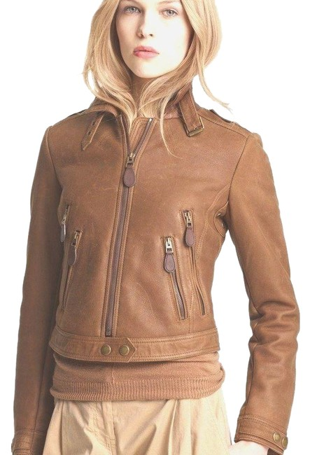 Item - Brown Roebuck Shearling Jacket Size 10 (M)