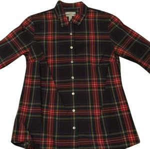 J.Crew Button Down Shirt Tartan