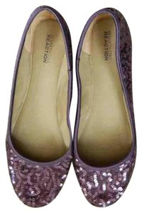 Kenneth Cole Reaction Purple Flats