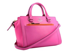 Kate Spade Hadley Street Mini Bernardine Satchel in Pink