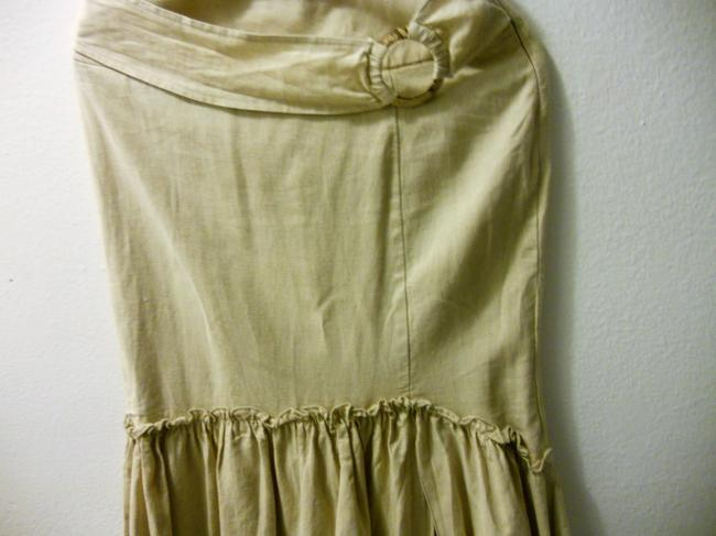 Other Maxi Skirt cream/ natural linen color Image 1