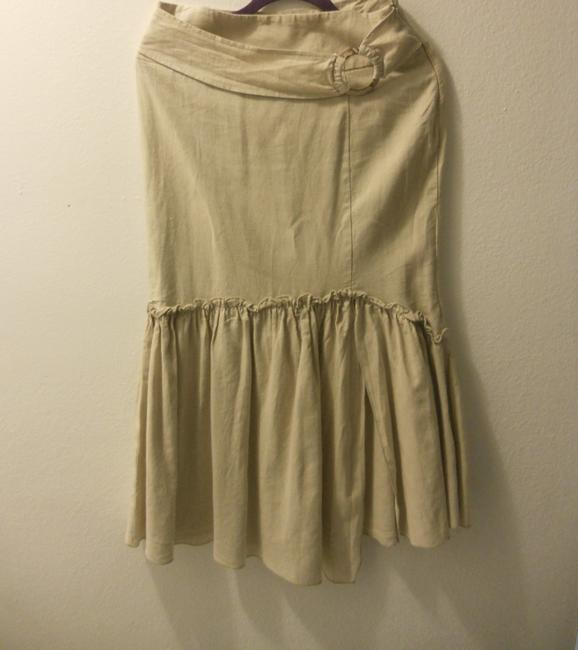 Other Maxi Skirt cream/ natural linen color Image 2