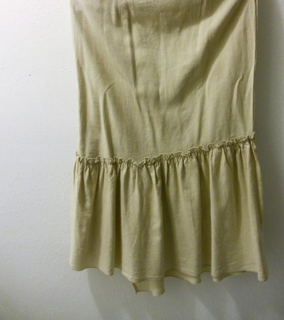 Other Maxi Skirt cream/ natural linen color Image 3