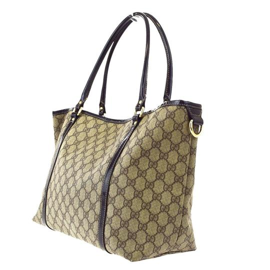 Preload https://img-static.tradesy.com/item/20123460/gucci-gg-pattern-tote-pvc-leather-brown-italy-men-shoulder-bag-0-4-540-540.jpg