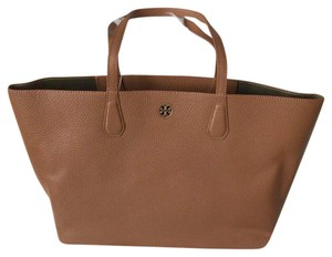 Tory Burch Tote in Bark/light Gold