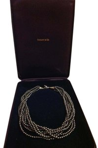 Tiffany & Co. Tiffany & Co. Black freshwater Pearl Strand Necklace