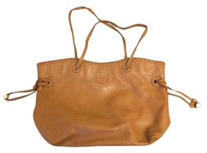 Tory Burch Leather Leathertote Tote in Brown
