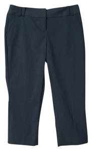 The Limited Work Crop Blue-grey Professional Capri/Cropped Pants Blue