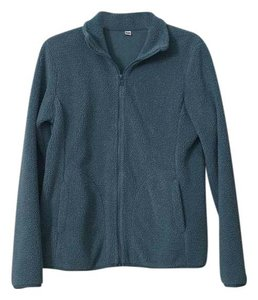 Uniqlo Zippered Fleece Fleece Sweatshirt
