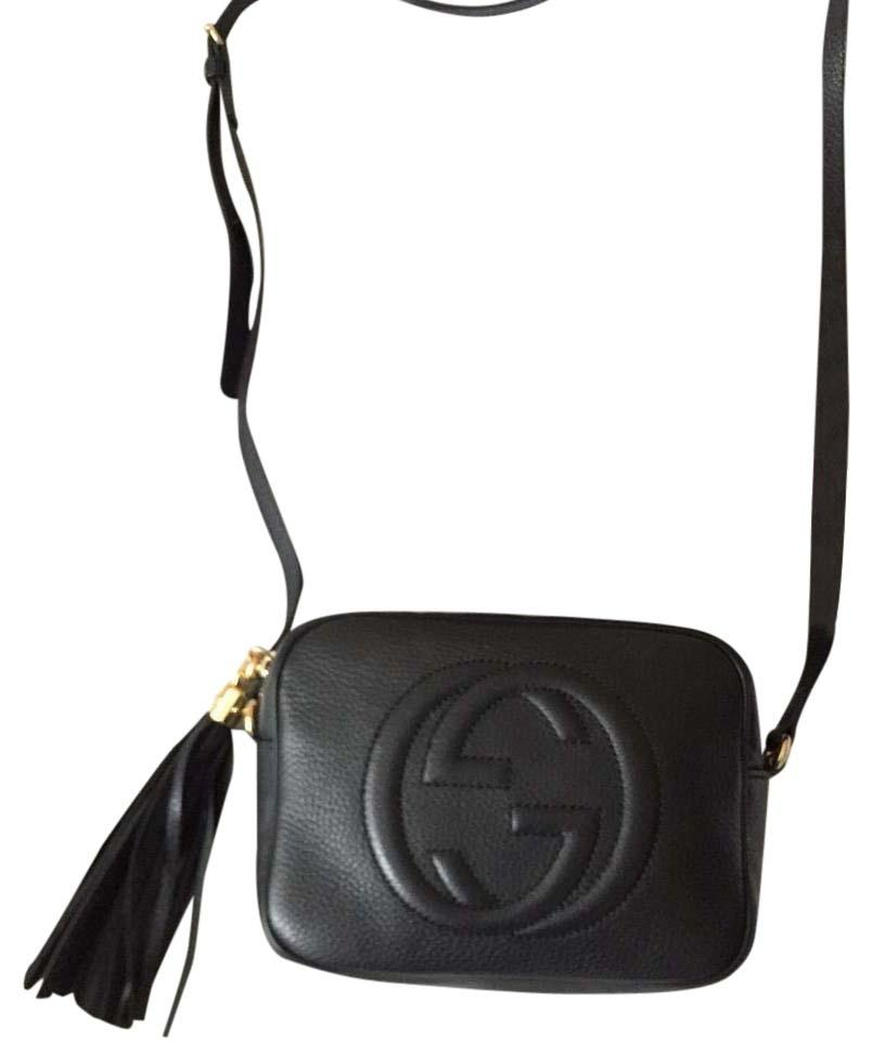 807bf34f8dd6 Gucci Soho Disco Black Leather Cross Body Bag - Tradesy