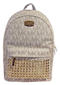 Michael Kors Mk Gold Hardware Backpack