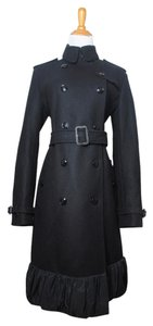Burberry Wool Cashmere Winter Pea Coat