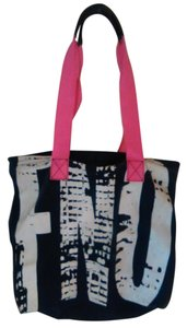 Brahmin Canvas Tote in Blue