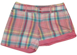 Lacoste Cuffed Shorts Pink