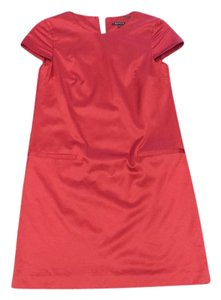 Theory short dress Red Shift Sateen Pockets on Tradesy
