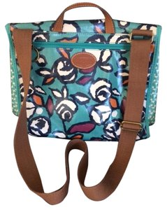 Fossil Satchel in multi color