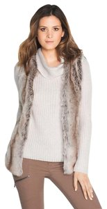 White House | Black Market Whbm Faux Fur Vest New With Tags Sweater