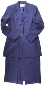 Albert Nipon Alpert Nipon Navy Skirt Suit Set