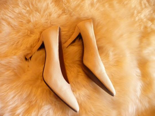 Saint Laurent Champagne Pumps Image 4