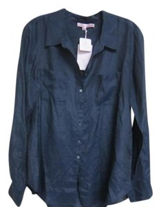 Calypso Top Navy Blue