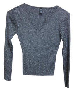 Laundry by Shelli Segal Top Grey