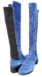 Vince Camuto Blue Suede Boots