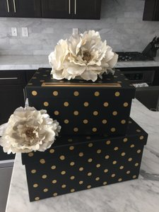 Black & Gold Wedding Gift Carbox