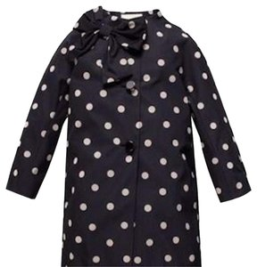 Kate Spade Polka Dot Bow Dorothy Trench Coat