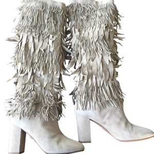 Aquazzura Gray Boots