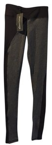 Jala Clothing Asymetrical Compression Two-tone Black grey Leggings