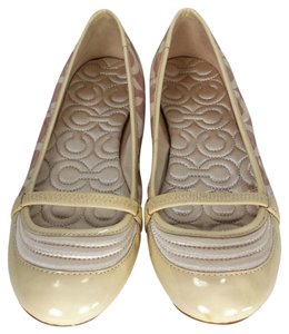Coach Monogram Light Khaki Flats