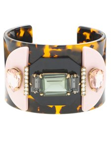J.Crew Mixed Resin Cuff