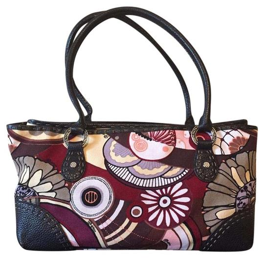 Preload https://img-static.tradesy.com/item/20124763/brighton-floral-matisse-multicolor-canvas-and-leather-satchel-0-1-540-540.jpg