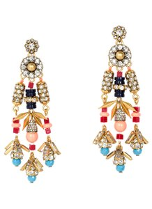 J.Crew Color Burst Statement Earrings