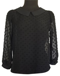 Meemteau Top Black