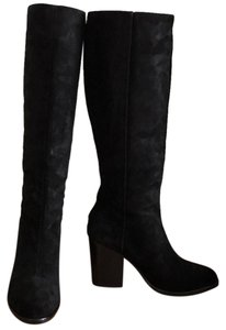 Rag & Bone Tall Knee Suede & Black Boots