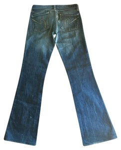 Citizens of Humanity 7 For All Mankind Boot Cut Jeans-Distressed