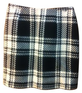 INC International Concepts Skirt Black and white