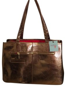 Hobo International Tote in Copper Metallic