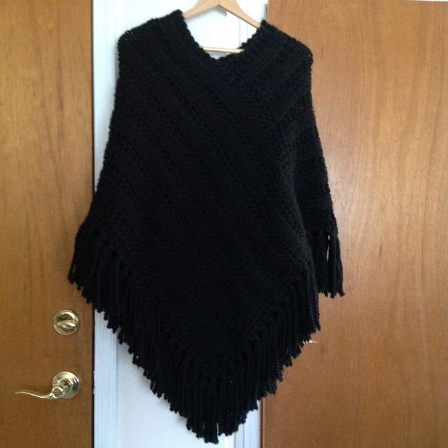 Other Wool Knitted Handmade Cape Image 4