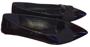 Burberry Patent Leather Black Flats