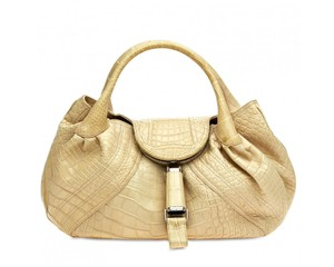 Fendi Satchel in Bone