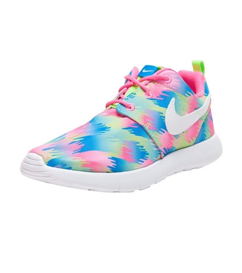 204aeb7bf1e Nike Multi Color Kids Roshe One Print Sneakers Size US 6 Regular (M ...